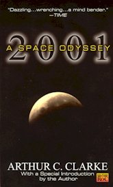 2001 A Space Odyssey black cover