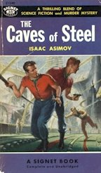 Caves of Steel 1950s cover