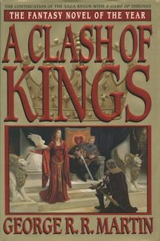 A Clash of Kings US cover