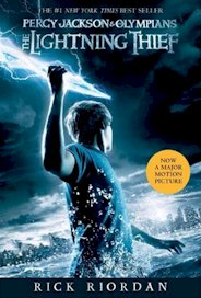 The Lightning Thief movie tie-in cover