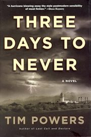 Three Days to Never hardcover